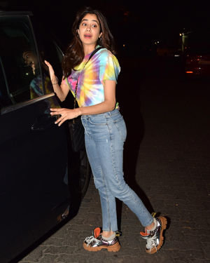 Photos: Janhvi Kapoor Spotted At Arjun Kapoor's House | Picture 1691961