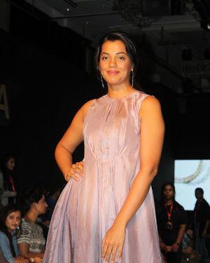 Photos: Mugdha Godse At  Bombay Times Fashion Week 2019