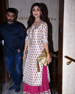 Shilpa Shetty - Photos: Celebs At Manish Malhotra's Diwali Party