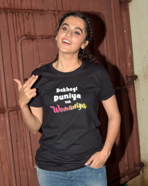 Taapsee Pannu - Photos: Screening Of Film Saand Ki Aankh At Sunny Sound