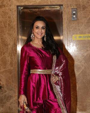Preity Zinta - Photos:  Celebs At Ramesh Taurani's Diwali Party At His Bandra Residence