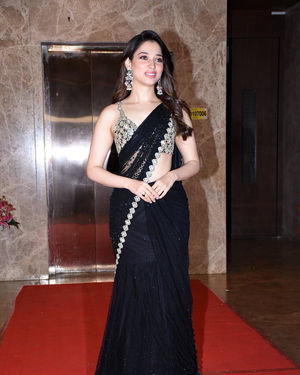 Tamanna Bhatia - Photos:  Celebs At Ramesh Taurani's Diwali Party At His Bandra Residence