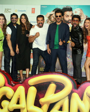 Photos: Trailer Launch Of Film Pagalpanti