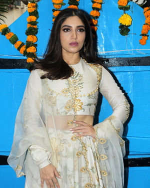 Bhumi Pednekar - Photos: Promotion Of Hindi Film Bala At Olive Bandra
