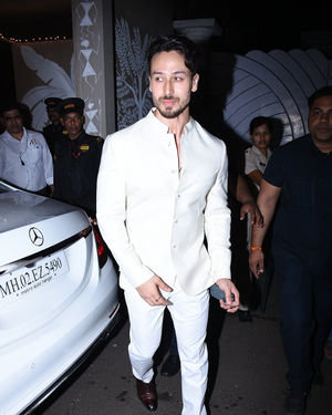 Tiger Shroff - Photos: Celebs At Amitabh Bachchan's Diwali Party In Juhu