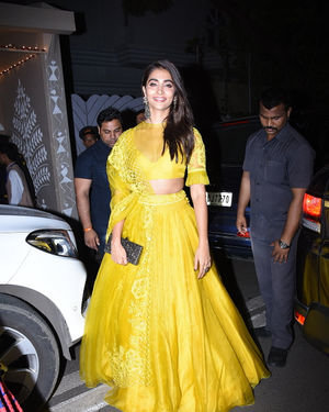 Pooja Hegde - Photos: Celebs At Amitabh Bachchan's Diwali Party In Juhu
