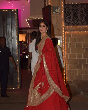 Katrina Kaif - Photos: Celebs At Anil Kapoor's Diwali Party In Juhu