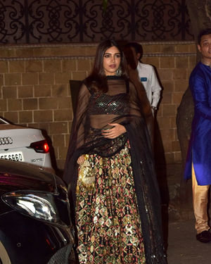 Bhumi Pednekar - Photos: Celebs At Anil Kapoor's Diwali Party In Juhu