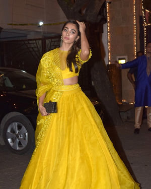Pooja Hegde - Photos: Celebs At Anil Kapoor's Diwali Party In Juhu