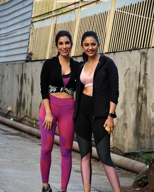 Photos: Celebs Spotted at Gym