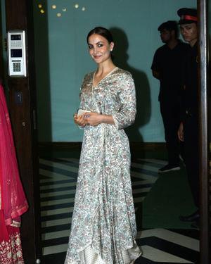 Elli Avram - Photos: Bollywood Celebs At Arpita Khan's Home For Ganesh Chaturthi