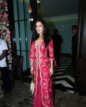 Isabelle Kaif - Photos: Bollywood Celebs At Arpita Khan's Home For Ganesh Chaturthi | Picture 1680037