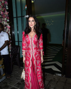 Isabelle Kaif - Photos: Bollywood Celebs At Arpita Khan's Home For Ganesh Chaturthi | Picture 1680036