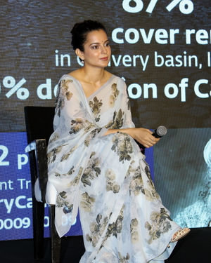 Photos: Kangana Ranaut At Press Conference Of Cauvery Calling Campaign | Picture 1680239