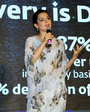 Photos: Kangana Ranaut At Press Conference Of Cauvery Calling Campaign | Picture 1680240