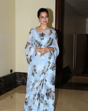 Photos: Kangana Ranaut At Press Conference Of Cauvery Calling Campaign | Picture 1680246