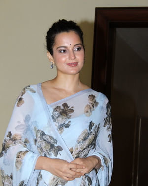 Photos: Kangana Ranaut At Press Conference Of Cauvery Calling Campaign