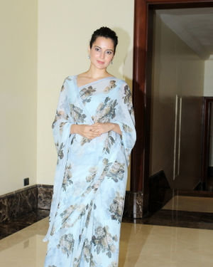Photos: Kangana Ranaut At Press Conference Of Cauvery Calling Campaign | Picture 1680243