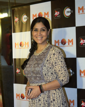 Sakshi Tanwar - Photos: Screening Of Alt Balaji's New Web Series MOM At Sunny Sound
