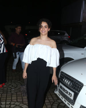 Sanya Malhotra - Photos: Screening Of Film Dream Girl At Pvr Ecx | Picture 1680988