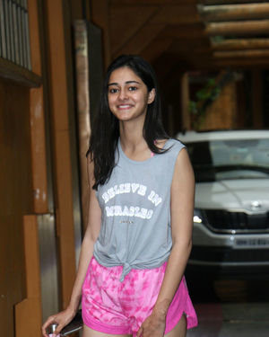 Ananya Panday - Photos: Celebs Spotted at Gym