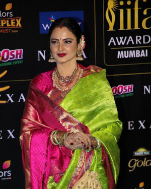 Rekha - Photos: Celebs At The Green Carpet Of The IIFA Rocks 2019 | Picture 1683565