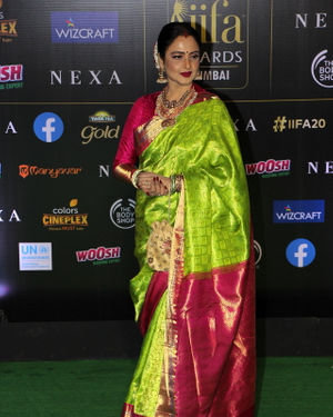 Rekha - Photos: Celebs At The Green Carpet Of The IIFA Rocks 2019 | Picture 1683571