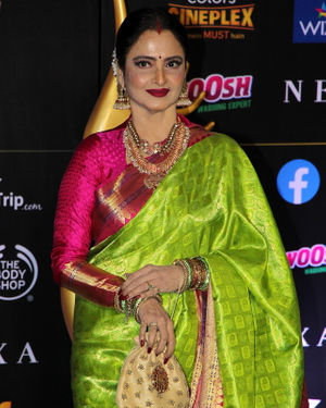 Rekha - Photos: Celebs At The Green Carpet Of The IIFA Rocks 2019 | Picture 1683558