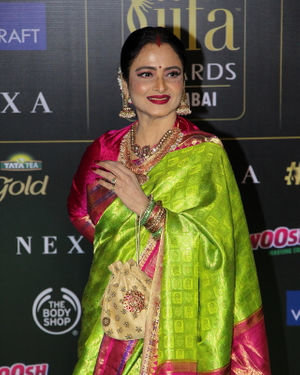 Rekha - Photos: Celebs At The Green Carpet Of The IIFA Rocks 2019 | Picture 1683569