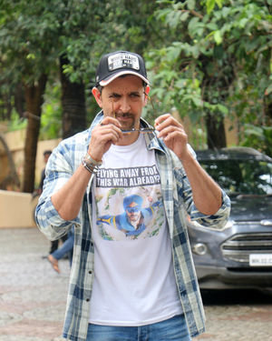 Photos: Hrithik Roshan Spotted During Promotions Of Film War | Picture 1683435