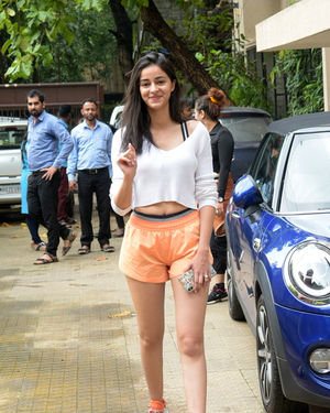 Ananya Panday - Photos: Celebs Spotted At Dance Class In Andheri | Picture 1684083