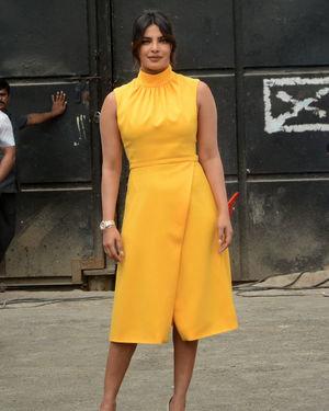 Priyanka Chopra - Photos: Promotion Of Film Sky Is Pink At Filmcity In Goregaon   Picture 1686525