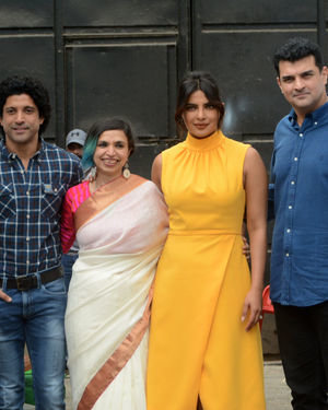 Photos: Promotion Of Film Sky Is Pink At Filmcity In Goregaon   Picture 1686537