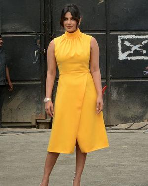 Priyanka Chopra - Photos: Promotion Of Film Sky Is Pink At Filmcity In Goregaon   Picture 1686527