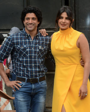 Photos: Promotion Of Film Sky Is Pink At Filmcity In Goregaon   Picture 1686536
