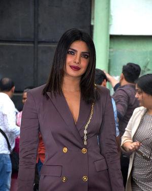 Priyanka Chopra - Photos: Promotion Of Film Sky Is Pink At Filmcity In Goregaon   Picture 1686650