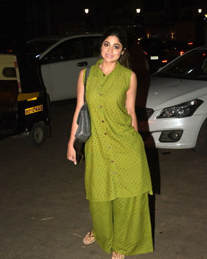 Shamita Shetty - Photos: Celebs Spotted At Kromakay Salon In Juhu | Picture 1687039
