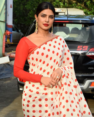 Priyanka Chopra - Photos: Promotion Of Film Sky Is Pink At Filmcity In Goregaon