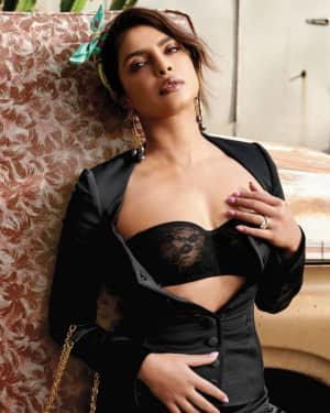 Priyanka Chopra For Harper's Bazaar Singapore Photoshoot