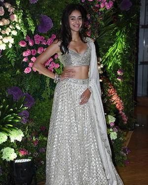 Ananya Pandey - Photos: Armaan Jain & Anissa Malhotra Wedding Reception