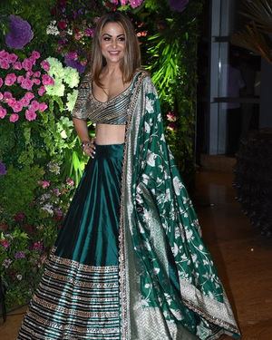 Amrita Arora - Photos: Armaan Jain & Anissa Malhotra Wedding Reception