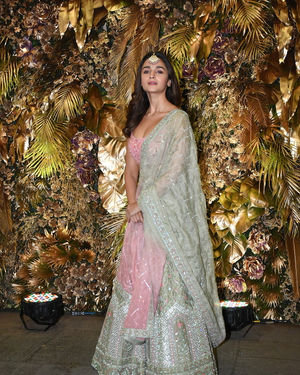 Alia Bhatt - Photos: Armaan Jain And Anissa Malhotra Wedding Reception In Mumbai