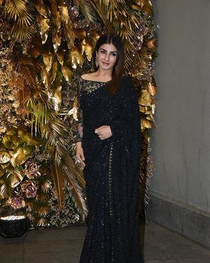 Raveena Tandon - Photos: Armaan Jain And Anissa Malhotra Wedding Reception In Mumbai | Picture 1719715