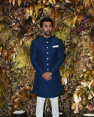 Ranbir Kapoor - Photos: Armaan Jain And Anissa Malhotra Wedding Reception In Mumbai | Picture 1719821