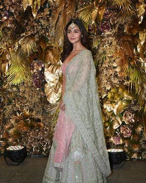 Alia Bhatt - Photos: Armaan Jain And Anissa Malhotra Wedding Reception In Mumbai | Picture 1719818