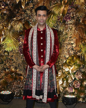 Karan Johar - Photos: Armaan Jain And Anissa Malhotra Wedding Reception In Mumbai