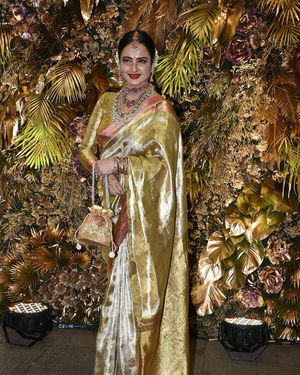 Rekha - Photos: Armaan Jain And Anissa Malhotra Wedding Reception In Mumbai | Picture 1719729