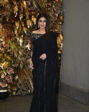 Raveena Tandon - Photos: Armaan Jain And Anissa Malhotra Wedding Reception In Mumbai | Picture 1719714