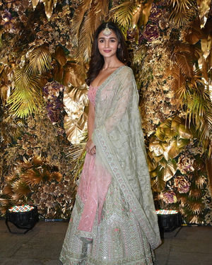 Alia Bhatt - Photos: Armaan Jain And Anissa Malhotra Wedding Reception In Mumbai