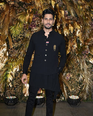 Sidharth Malhotra - Photos: Armaan Jain And Anissa Malhotra Wedding Reception In Mumbai